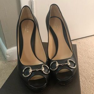 Authentic Gucci Horsebit Heels